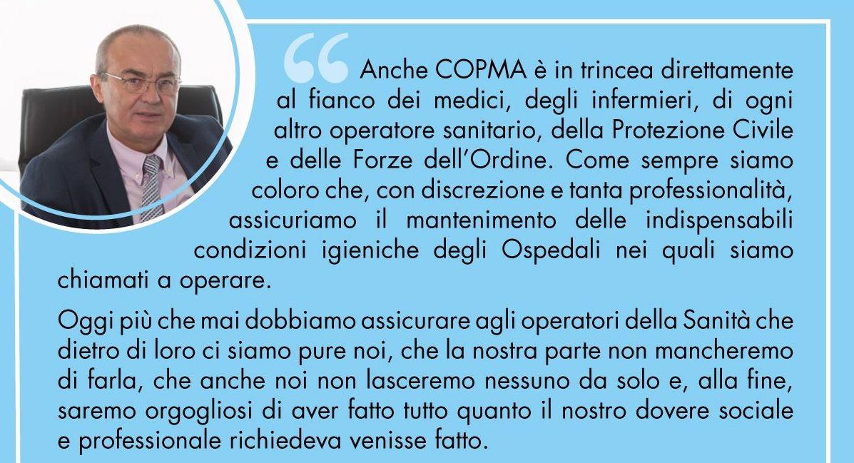 Il sostegno di Copma alla Protezione Civile e ai soci e dipendenti