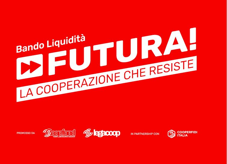 """""""Futura – La cooperazione che resiste"""": è online il bando liquidità, da Coopfond finanziamenti da 25mila euro a tasso zero"""