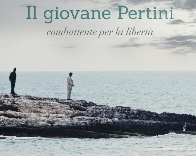 """Nel 75° Anniversario della Liberazione, a 30 anni dalla morte di Sandro Pertini, Coop Alleanza 3.0 e Genoma Films portano in tv  """"Il giovane Pertini combattente per la libertà"""""""