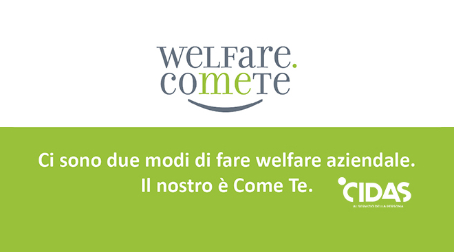 CIDAS presenta Welfare Come Te, il progetto del neonato Consorzio FIBER
