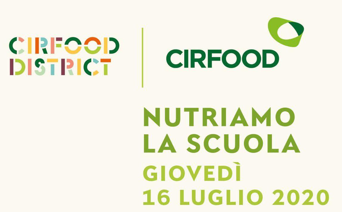 """CIRFOOD presenta il webinar """"Nutriamo la scuola"""", giovedì 16 luglio ore 11.00"""