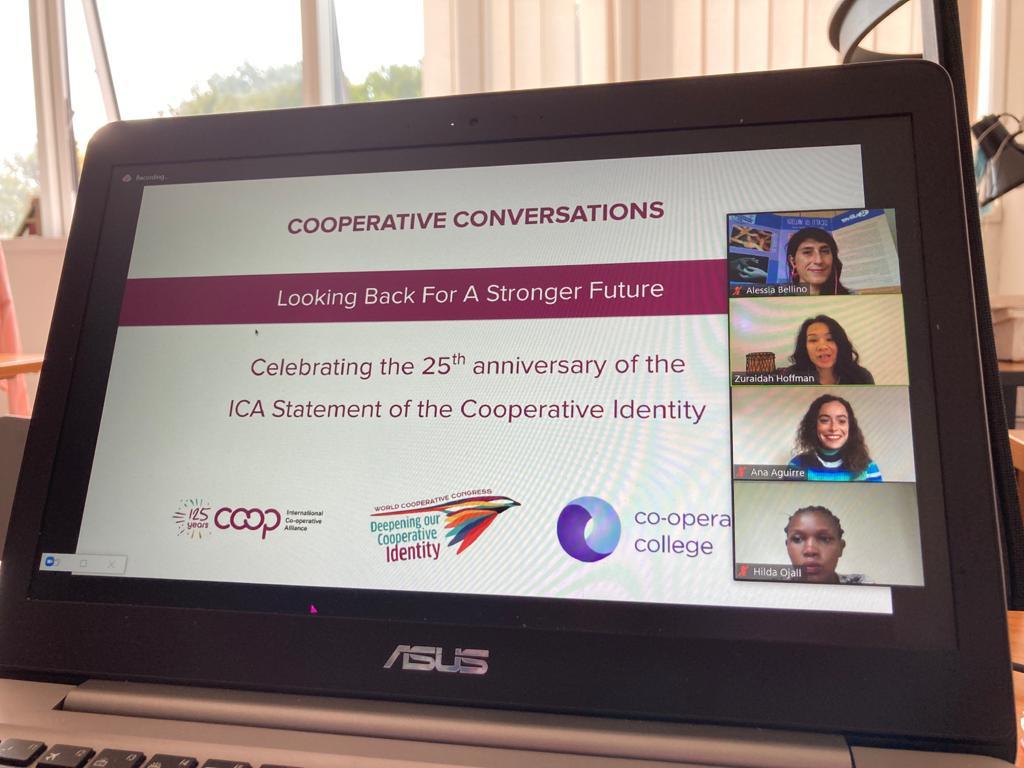 Gulliver interviene all'evento dell'International Cooperative Alliance per il 25° anniversario della Dichiarazione di Identità Cooperativa