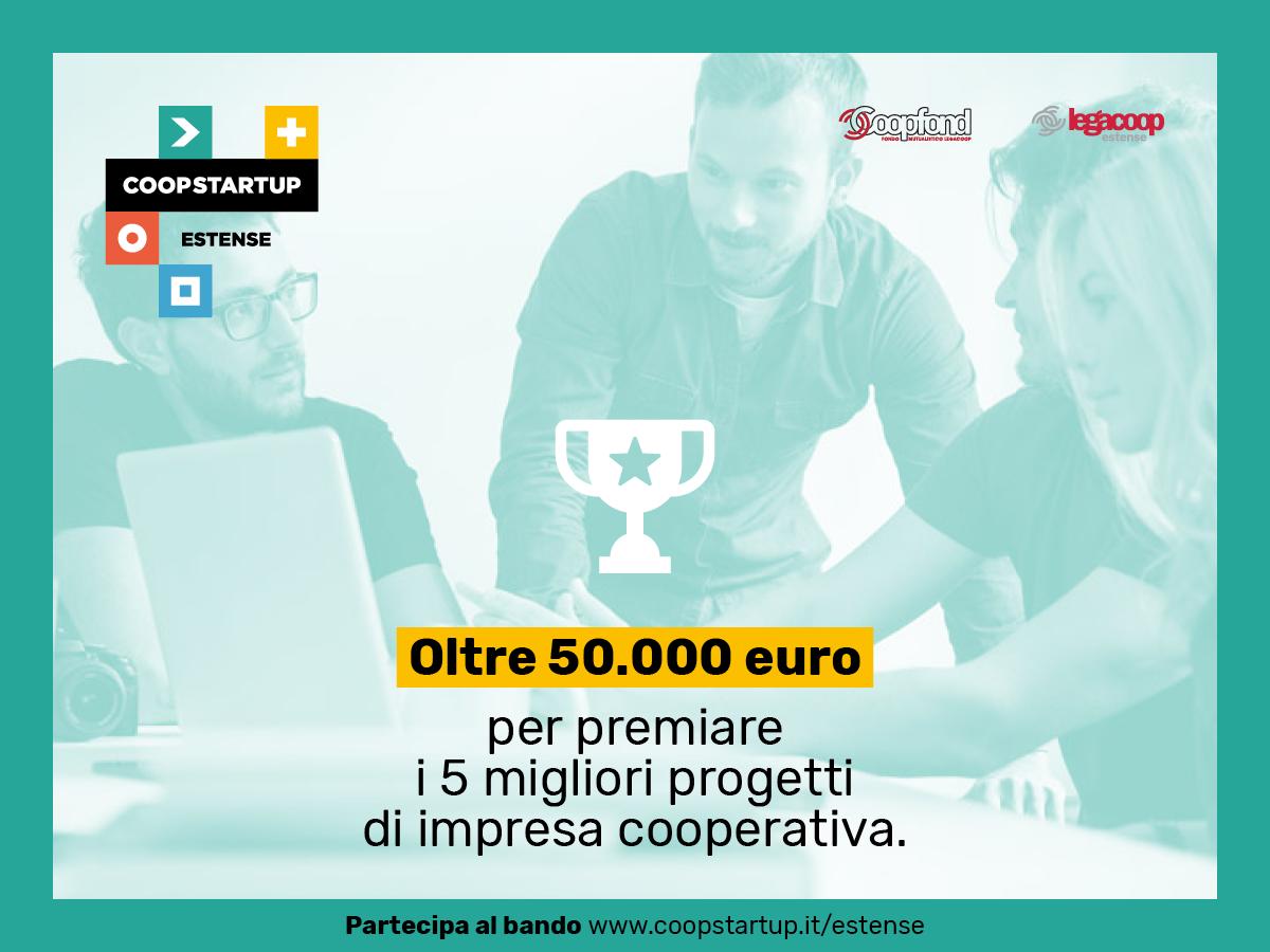 Coopstartup Estense: prorogata al 15 ottobre la scadenza del bando per nuove cooperative a Modena e Ferrara