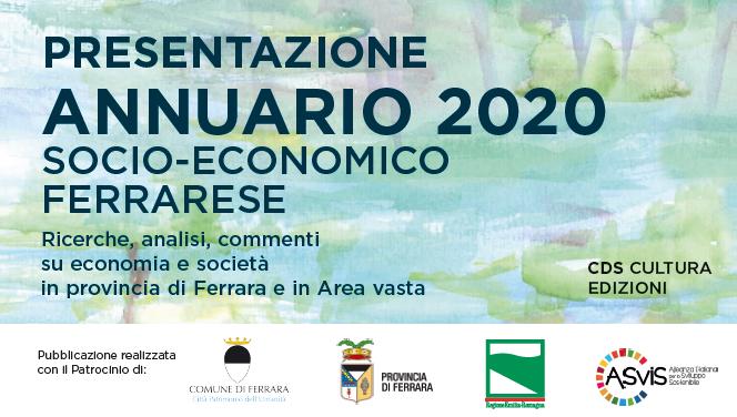 CDS Cultura: Presentazione Annuario Socio-Economico Ferrarese, 9 e 10 ottobre