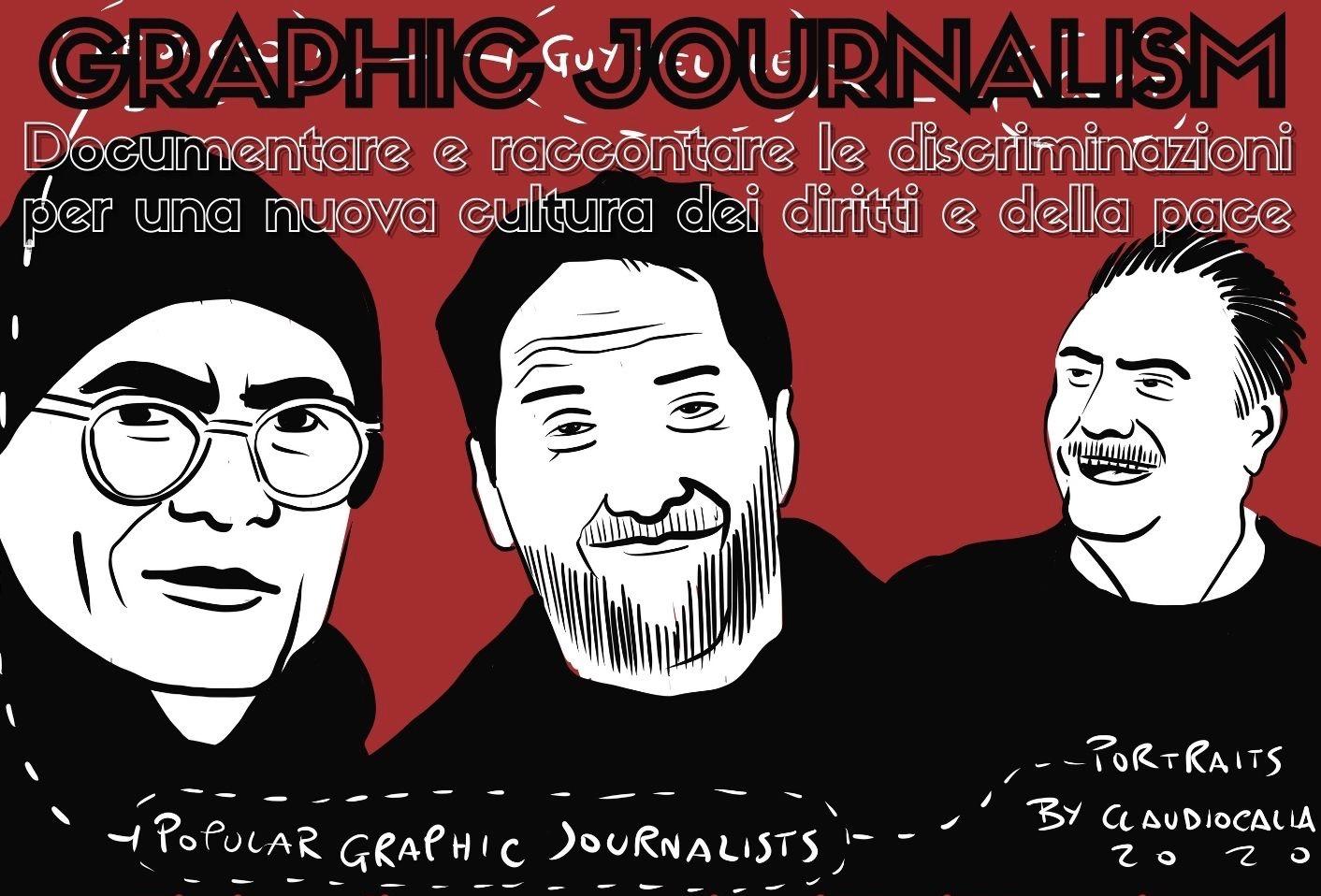 """La cooperativa sociale Le Pagine è partner del progetto sul Graphic journalism, vincitore del bando """"Pace"""" della Regione ER"""