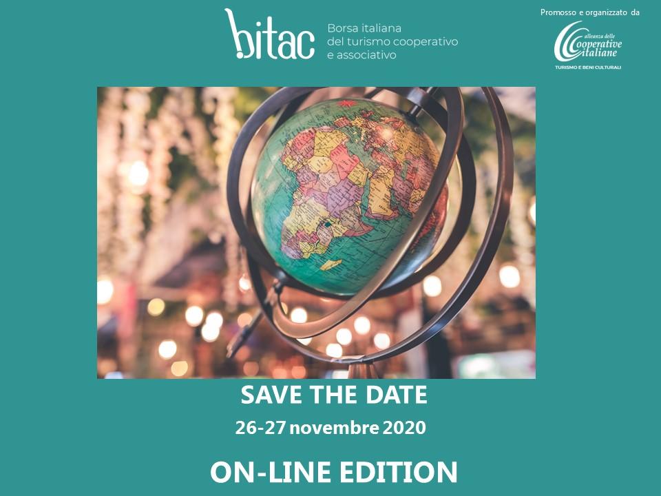 BITAC: la Borsa del Turismo Cooperativo torna il 26-27 novembre in modalità online. Il 30 ottobre un workshop preparatorio