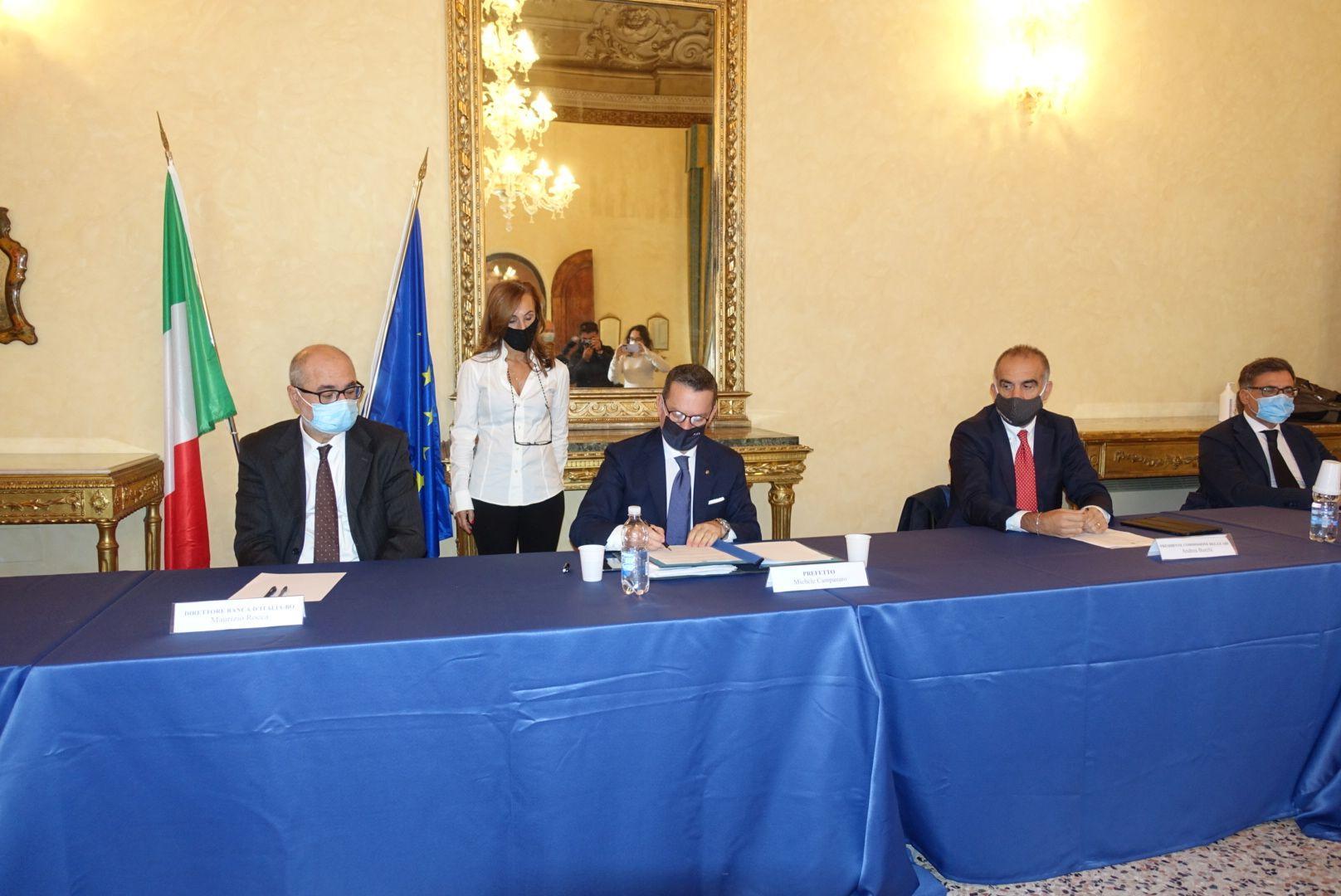 """Sottoscritto in Prefettura a Ferrara il """"Protocollo d'intesa sulle misure di sostegno alla liquidità"""""""