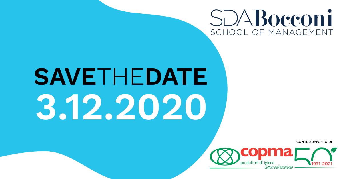 ONE HEALTH: il 3 dicembre il convegno online organizzato da SDA Bocconi con il supporto di COPMA