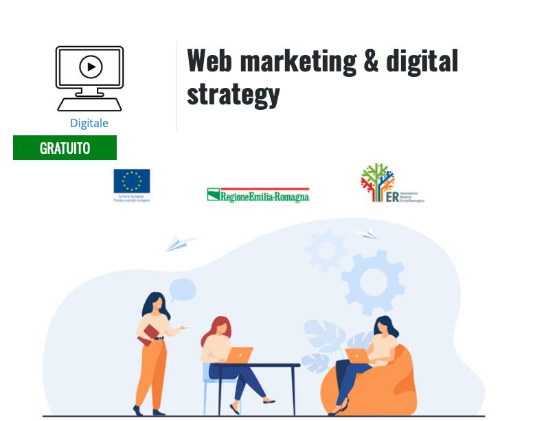 """""""Web marketing & digital strategy"""": iscrizioni aperte al corso gratuito promosso da Demetra Formazione per le donne dell'Emilia-Romagna"""