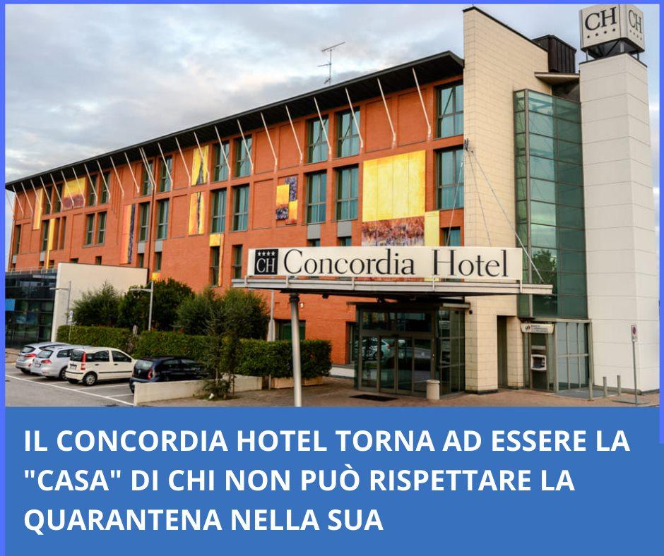 """Il Concordia Hotel torna ad essere la """"casa"""" di chi non può rispettare la quarantena nella sua"""
