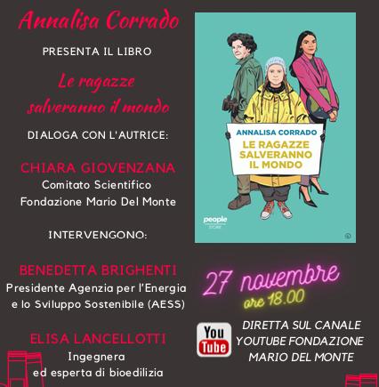 """Fondazione Mario del Monte e Centro Documentazione Donna presentano: """"Le ragazze salveranno il mondo"""""""
