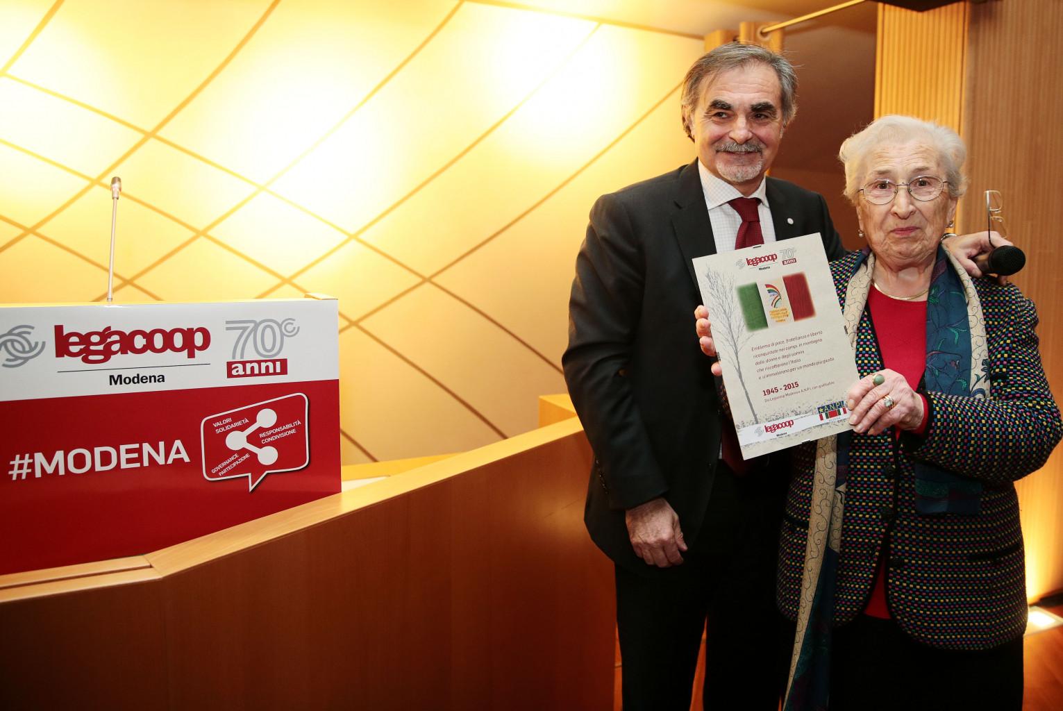 Scomparsa di Aude Pacchioni: il cordoglio di Legacoop Estense