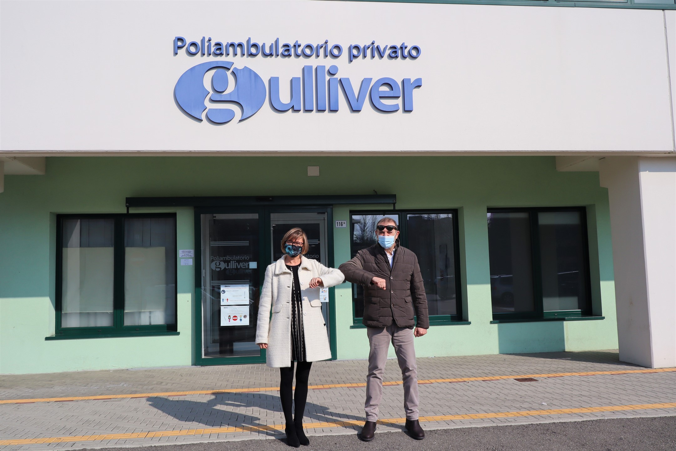 Siglata la convenzione tra Abitcoop e la Divisione Poliambulatorio di Gulliver