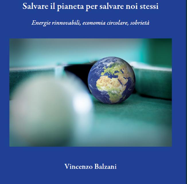 """Vincenzo Balzani presenta il libro """"Salvare il pianeta per salvare noi stessi"""""""
