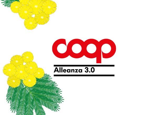 Coop Alleanza 3.0: le iniziative per l'8 marzo 2021
