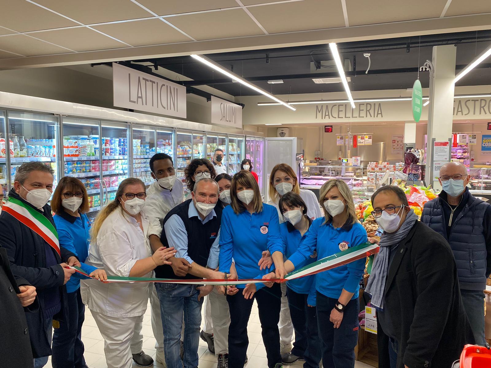 Inaugurato a Piumazzo il 47esimo supermercato di Coop Reno