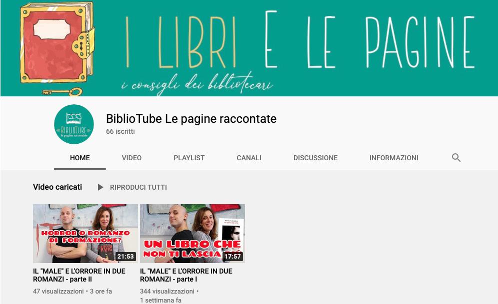 BiblioTube: la cooperativa sociale Le Pagine apre un canale YouTube dedicato agli appassionati di libri