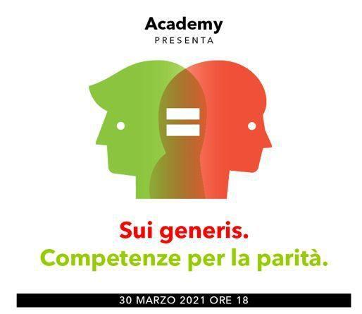 """Coop Alleanza 3.0 Academy presenta: """"Sui generis. Competenze per la parità"""""""