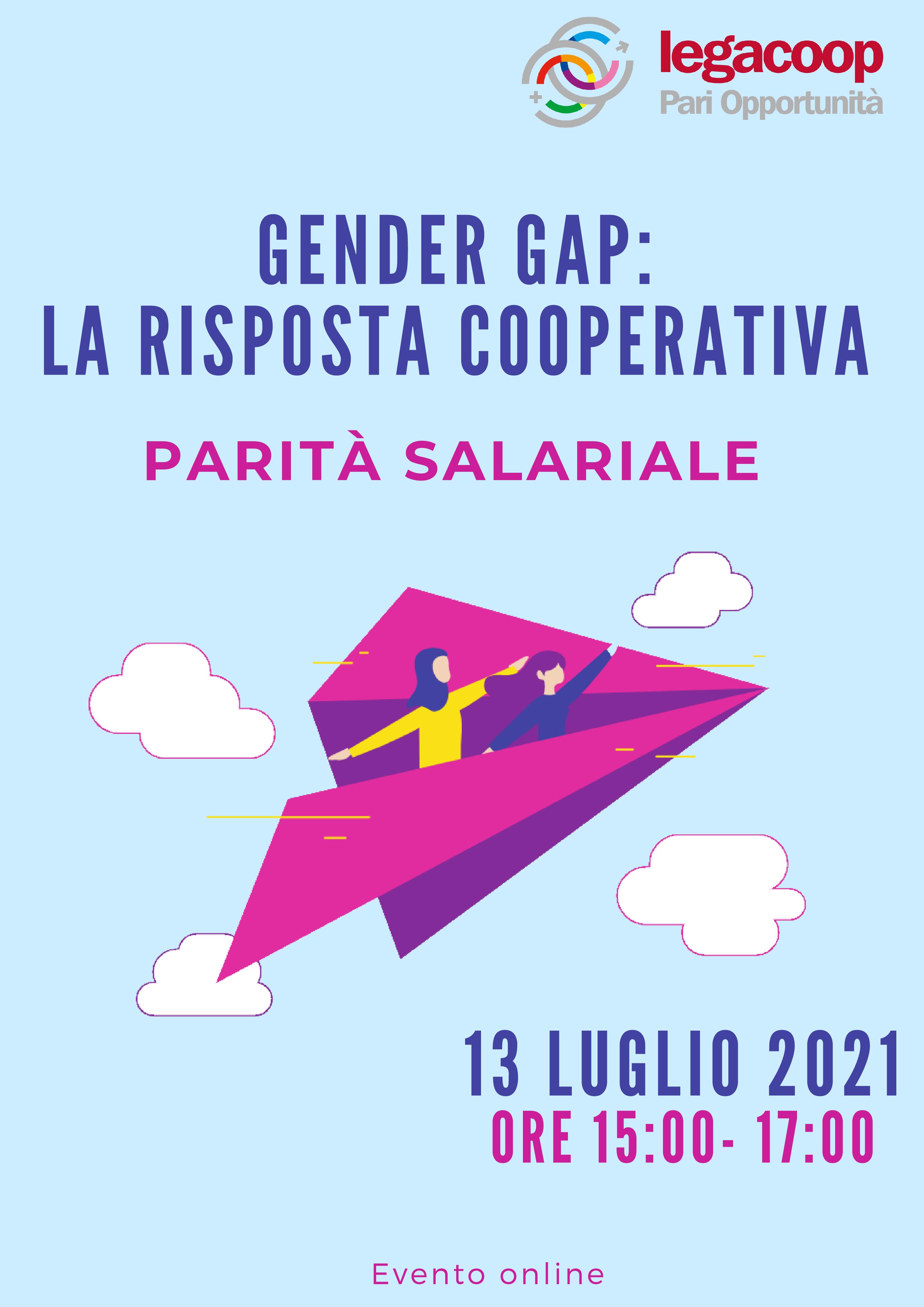 Save the Date 13 Luglio 2021 : Incontro sulla parità salariale