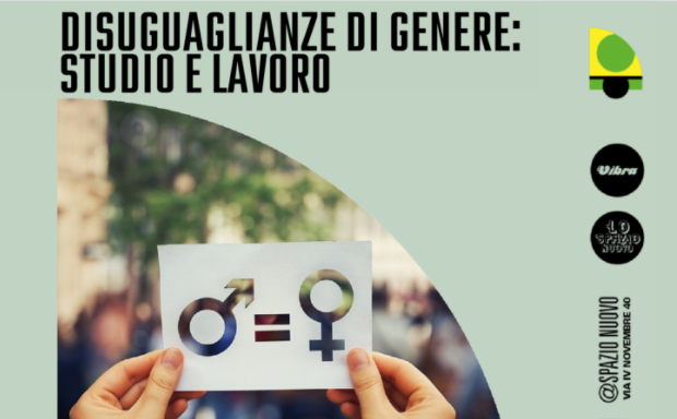 """Incontro """"Disuguaglianze di genere: studio e lavoro"""", il 7 luglio a Modena"""