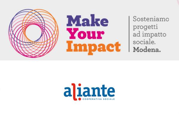 «MakeYourImpact» Aliante Cooperativa Sociale vince con il progetto Itinera Tuttofare