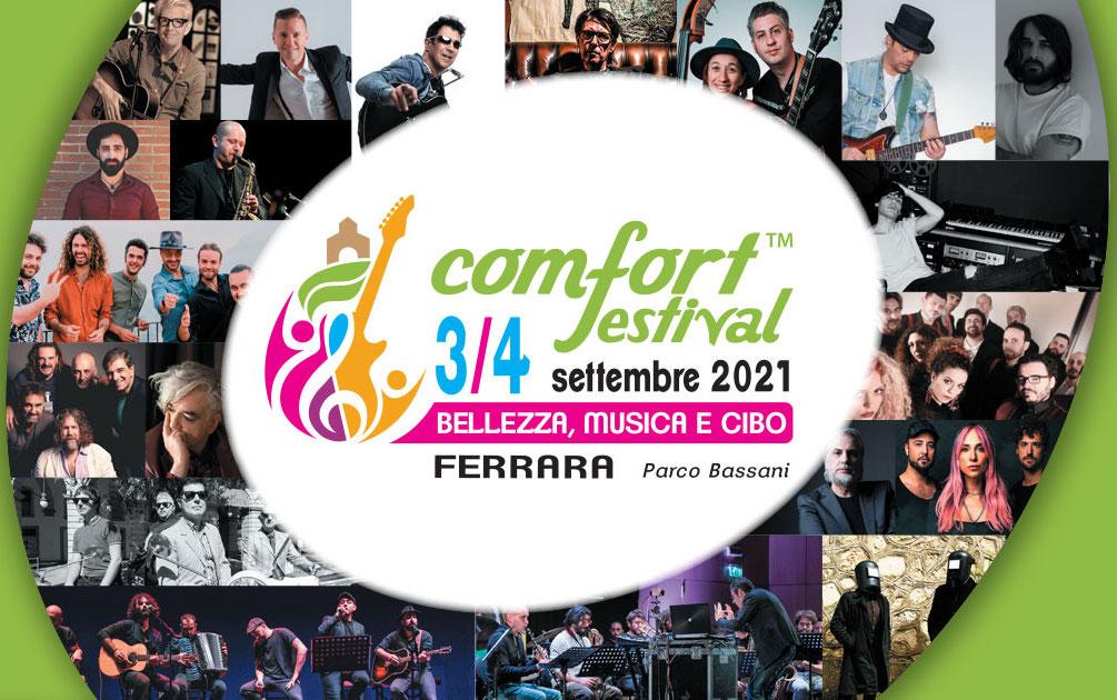 Comfort Festival: il 3 e 4 settembre a Ferrara un nuovo festival musicale, con il sostegno anche di Coop
