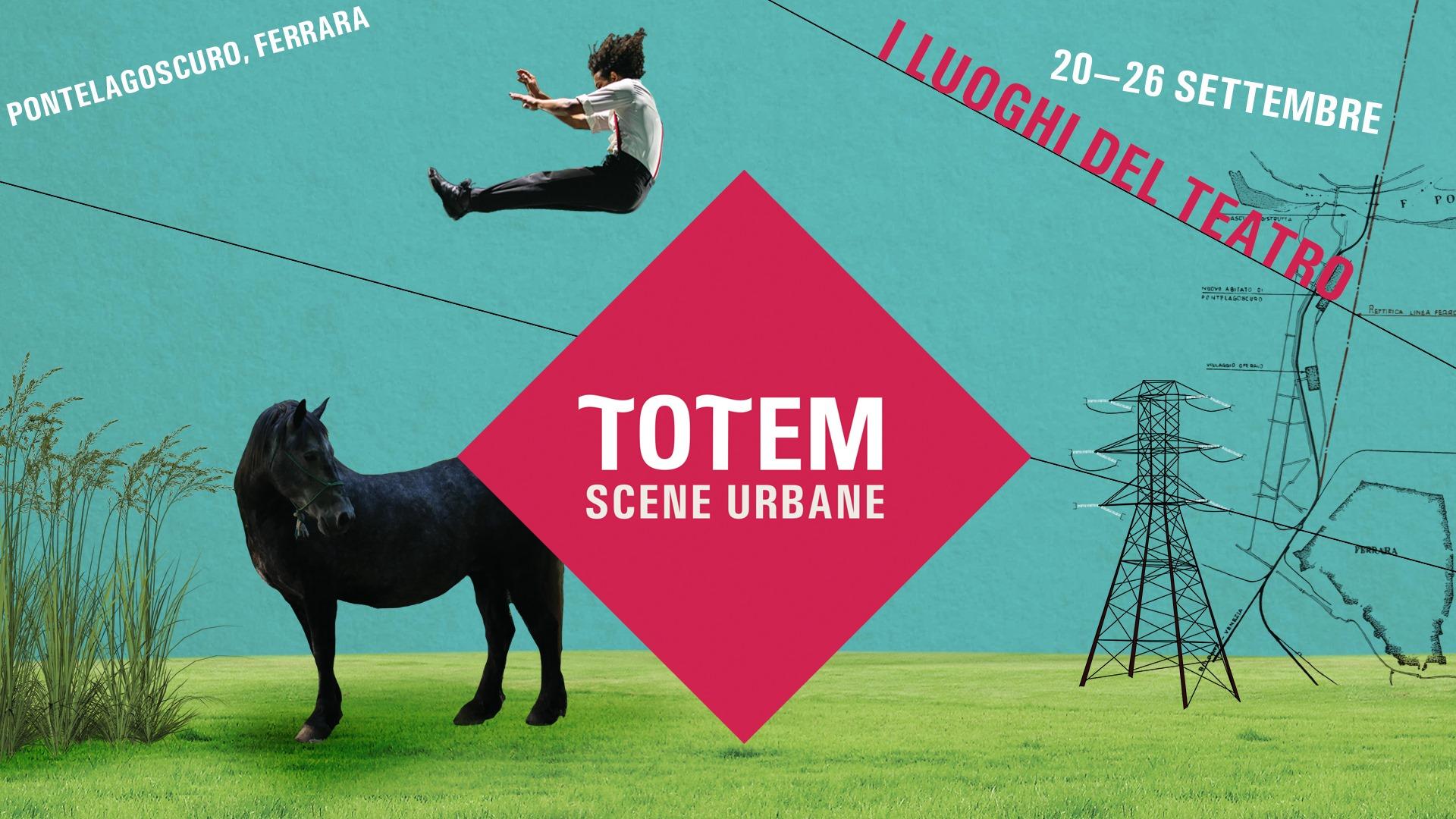TOTEM Scene Urbane, dal 20 al 26 settembre un percorso intensivo di laboratori e seminari con Teatro Nucleo