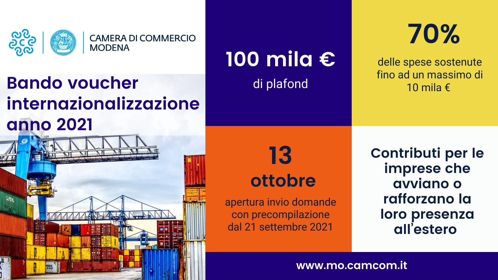 Export, in arrivo contributi per le imprese modenesi