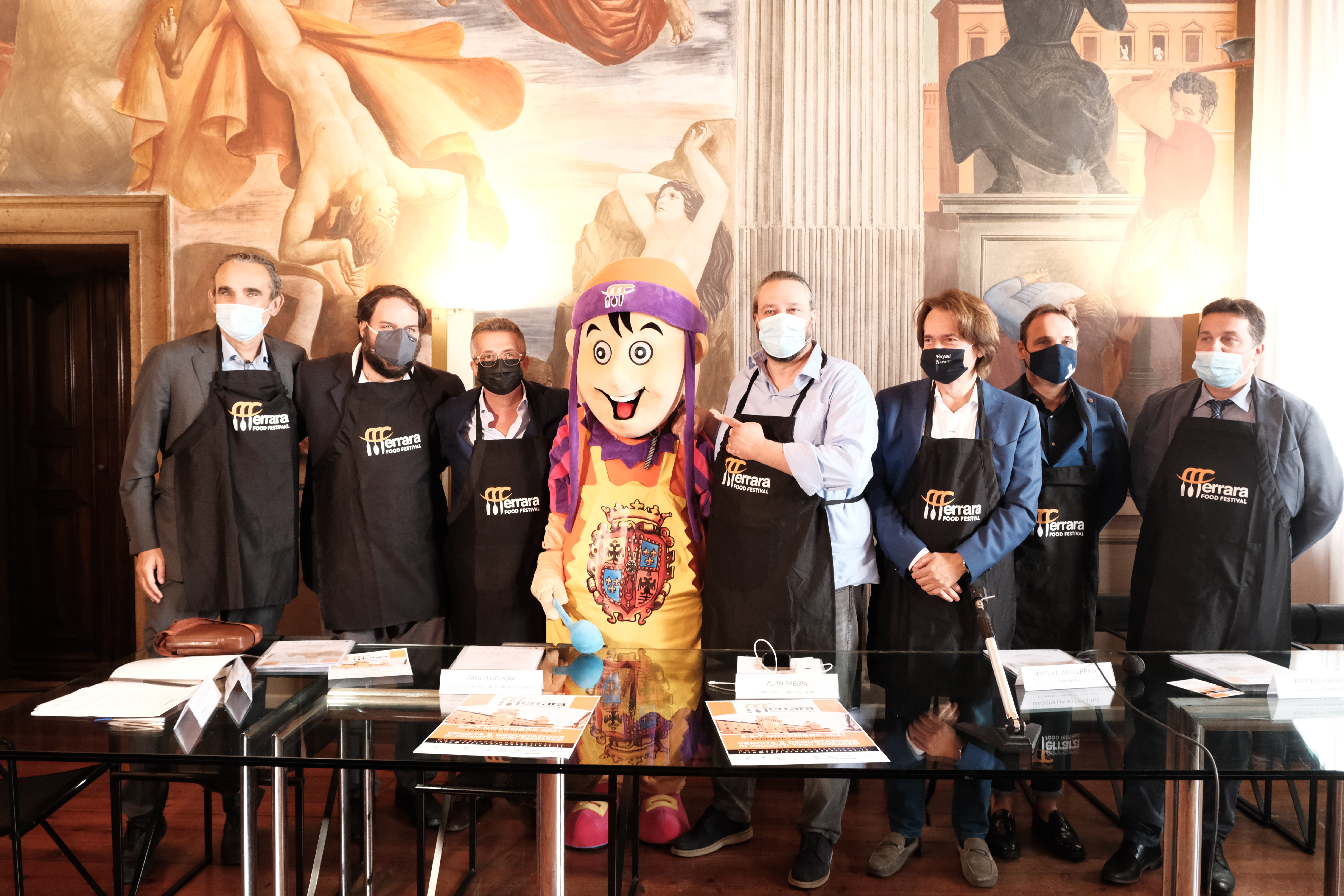 Presentato il Ferrara Food Festival. Tra gli sponsor Coop Giulio Bellini e Coop Alleanza 3.0