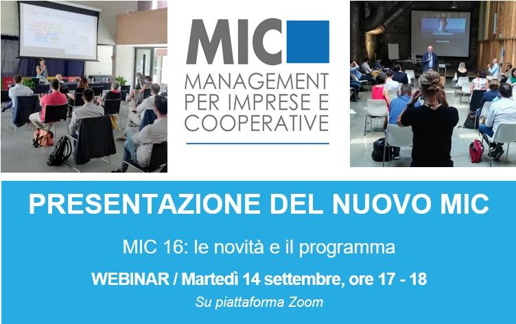 Presentazione del nuovo MIC – 14 settembre 2021