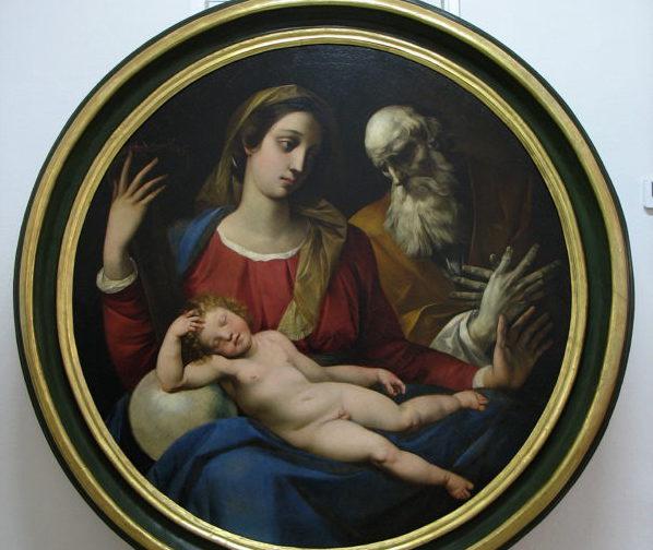 """Restaurata con """"Opera Tua"""" la """"Sacra Famiglia"""" del Cavalier D'Arpino del Museo della Cattedrale di Ferrara"""