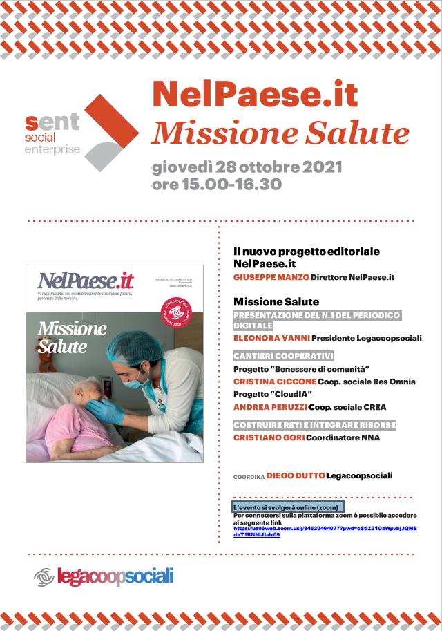 """Webinar """"Missione Salute"""" di NelPaese.it – Periodico digitale"""